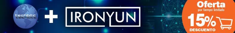 Oferta Iron Yun en TechBTC